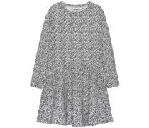 Kleid mit langen Ärmeln 'nithermes' schwarz / weiß