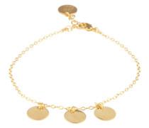Gliederarmband 'Pendel' gold