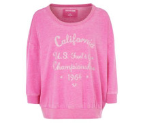 Longsleeve 'cali Boxy' pink