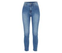 'Cropa Cabana' Jeans Regular Fit blue denim