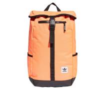 Rucksack schwarz / orange