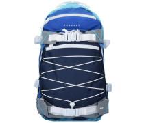 Backpack 'Ice Louis' Rucksack 50 cm blau / naturweiß