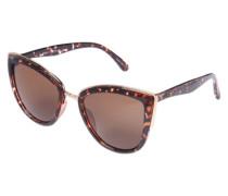 Sonnenbrille 'MY Girl' braun