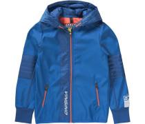 Übergangsjacke für Jungen blau / silber
