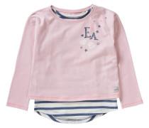 Set Langarmshirt + Top für Mädchen rosa