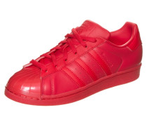 Sneaker 'superstar Glossy TO' rot