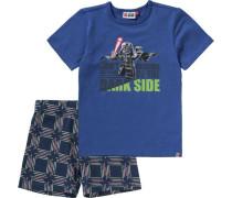Schlafanzug 'star Wars' für Jungen blau / grün / rot