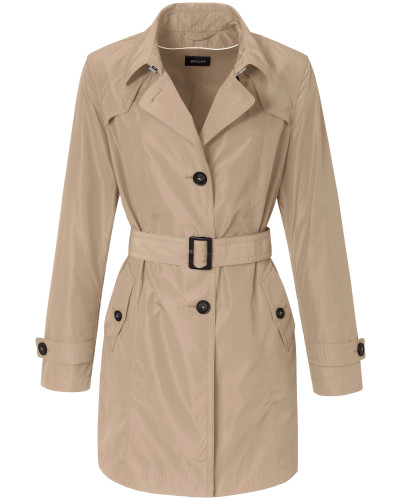Trenchcoat 'Authentischer Every-day' sand