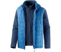 Fleecejacke 'Glen Dale' blau
