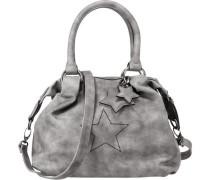 Handtasche grau / silbergrau