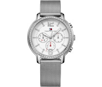 Multifunktionsuhr »Casual Sport 1781659« silber