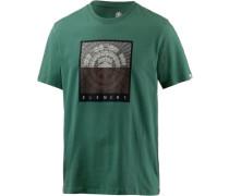 'cast SS' T-Shirt Herren grün