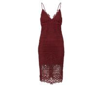 Kleid 'versailles' bordeaux