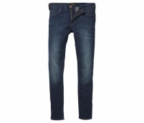 Skinny-fit-Jeans 'malone' dunkelblau