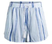 Gestreifte Shorts blau / weiß