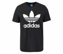 T-Shirt mit Rundhalsausschnitt schwarz