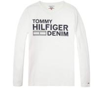 T-Shirt 'thdm Basic CN T-Shirt L/S 11' weiß