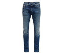 Slim-Fit Jeans dunkelblau