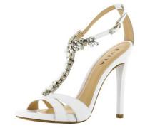 Damen Sandalette weiß