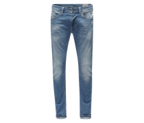 Skinny FIt Jeans 'Thavar' blue denim