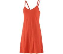 Trägerkleid orange