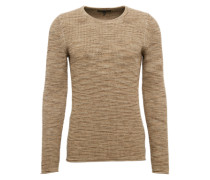 Grobstrick-Pulli 'Heath' greige