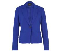 Blazer im klassischen Stil blau