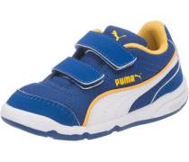 Baby Sneakers 'Stepfleex' blau / gelb / weiß