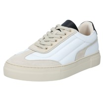 Sneaker 'slhdavid Chunky Quilt Leather Trainer B'
