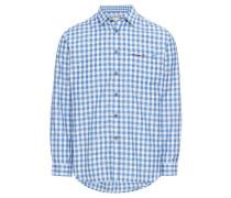 Hemd 'Mitchel' blau / weiß