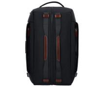 B Go Weekender Rucksack 49 cm Laptopfach schwarz