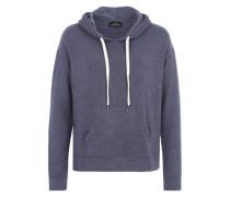 Kapuzensweatshirt 'soft Basic Hoody' blau