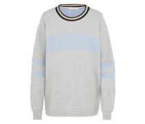 Sweater 'Nikko' hellblau / grau