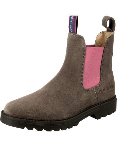 Chelsea Boots grau / rosé