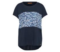 BOSS ORANGE T-Shirt 'Tasmashi' blau / mischfarben