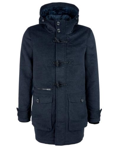 Jacke dunkelblau / schwarz / silber