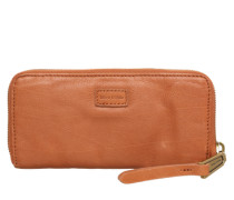 Geldbörse 'Softpocket W9 washed' cognac