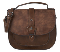 Satteltasche in Leder-Optik 'Avril' cognac