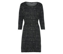 Kleid in Midilänge graumeliert