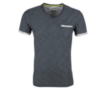 V-Neck-Shirt aus Flammgarn