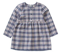 Kinder Kleid kariert blau