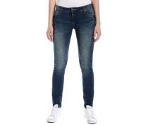 "Jeans »AleenaTZ ""3819 middle blue wash""« blau"