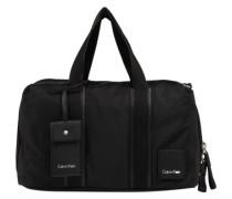 Handtasche 'Fluid Duffle' schwarz