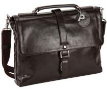 Buddy Business-Tasche Leder 38 cm kastanienbraun