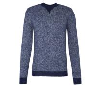 Pullover 'Talford' in Melange-Optik dunkelblau / blaumeliert