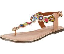 Sandaletten hellbraun / mischfarben