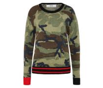 Pullover 'mesh' khaki