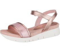 Sandaletten 'Bazar' rosa / weiß