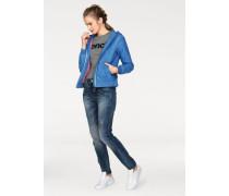 'Pitch Mom' Boyfriend-Jeans blue denim
