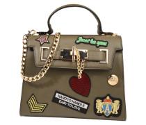 Handtasche 'Amazonite' khaki / mischfarben